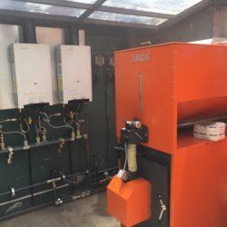 Sistema mixto calefacción y Agua Caliente
